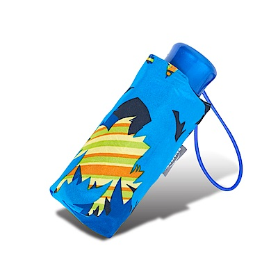 RAINSTORY 叢林迷彩 抗UV迷你口袋傘-藍