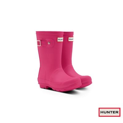 HUNTER - 童鞋 - Original小童低跟霧面短靴 - 亮粉