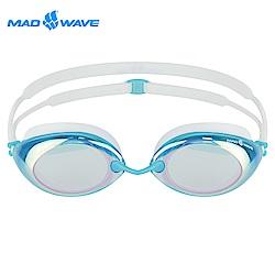 俄羅斯 邁俄威 成人泳鏡 MADWAVE LANE4 RAINBOW