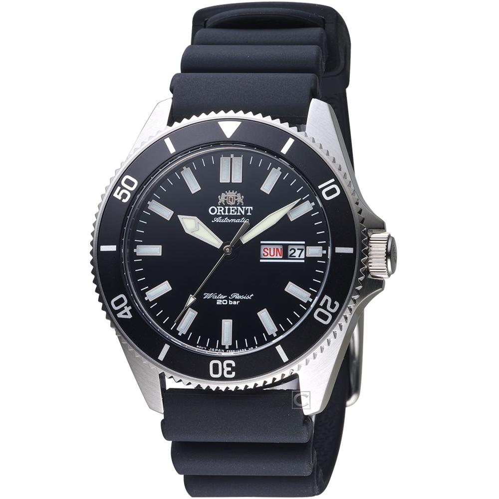 ORIENT 東方 海豹部隊200M潛水機械錶(RA-AA0010B)黑/41mm