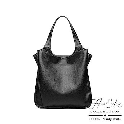 DF Flor Eden - 歐美時尚真皮多隔層大容量手提單肩包