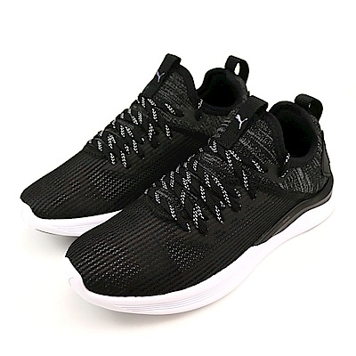 PUMA IGNITE Flash evoKNIT 女慢跑鞋 19051501 黑