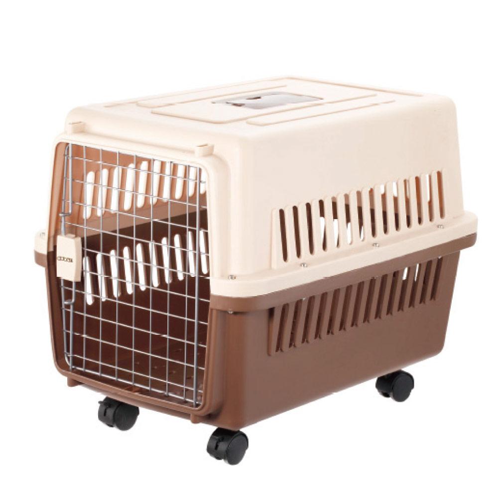 doter-寵愛物語 大型犬貓專用 運輸籠/提籠 RU23(活動輪設計)