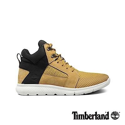 Timberland 男款小麥色潮流透氣休閒高筒鞋|A1IDA