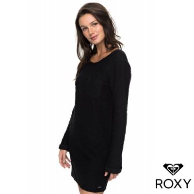 【ROXY】OCEANIC DREAMS 洋裝 黑灰
