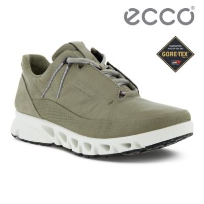 ECCO MULTI-VENT W 全方位城市戶外防水運動休閒鞋 女鞋 草綠色