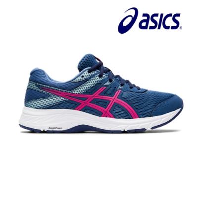 Asics亞瑟士GEL-CONTEND 6(D)寬楦女慢跑鞋 1012A571-400