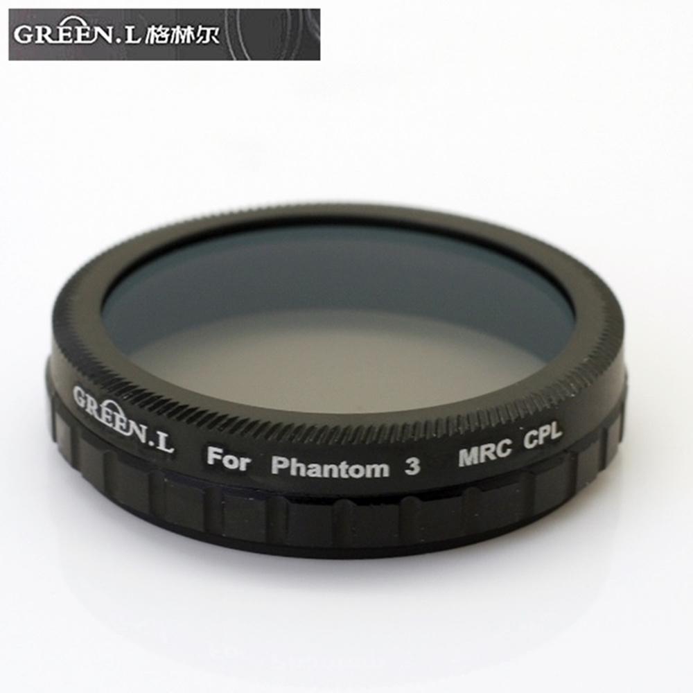GREEN.L副廠適DJI大疆精靈3十六層膜MC-CPL偏光鏡
