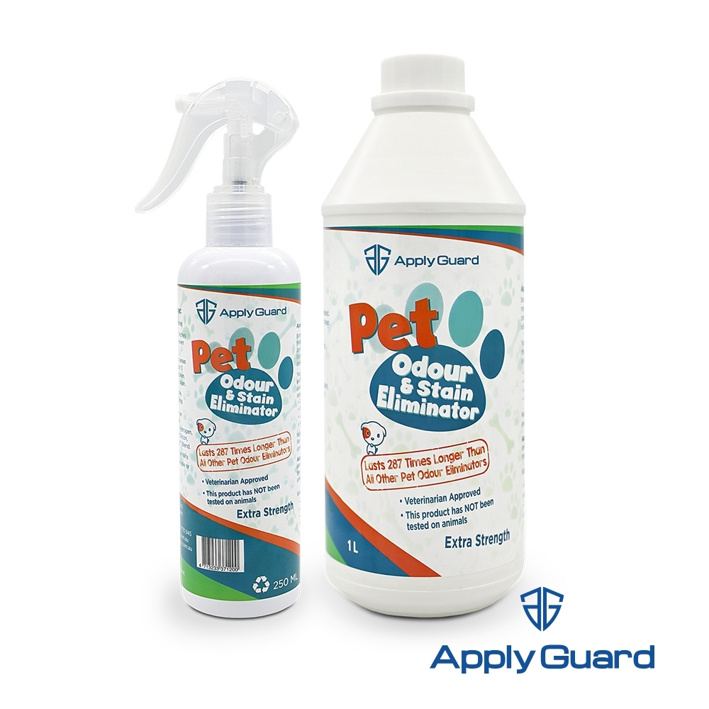Apply Guard應用佳 寵物消臭抑菌噴霧250ml+1000ml補充瓶 超值組合