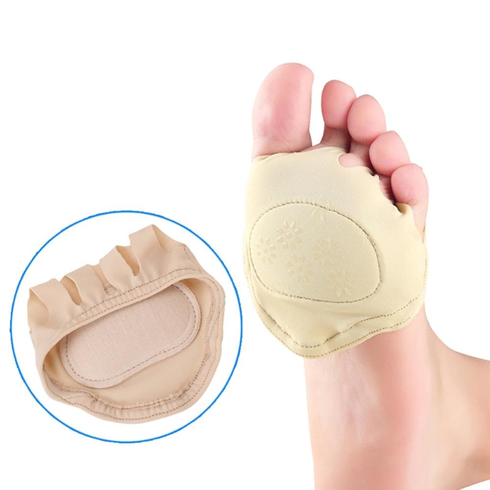 JHS杰恆社abe054爆款高跟鞋防滑前掌襪子五指襪女士薄款透氣吸汗隱形襪墊前掌墊