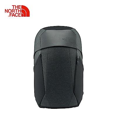 The North Face北面男女款黑色舒適防護休閒後背包|3KURFLC