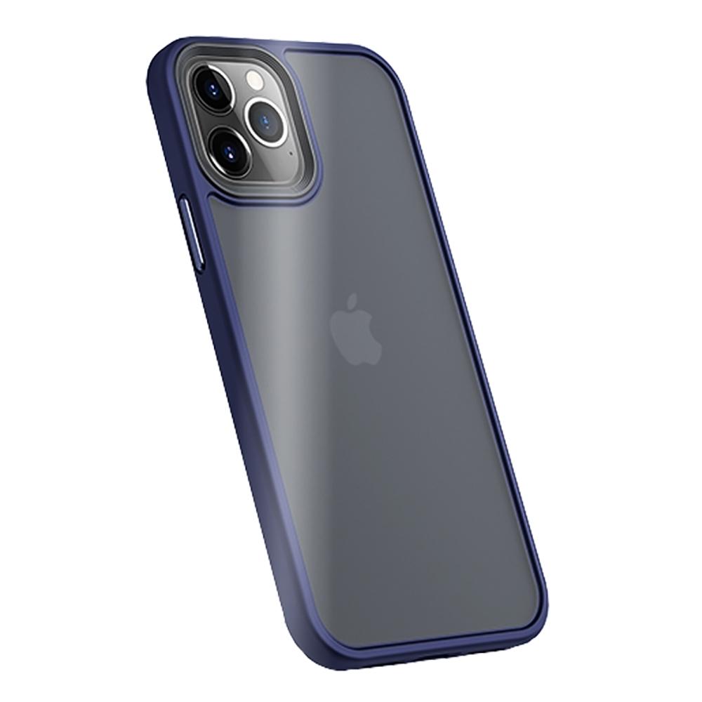 "Benks iPhone12 Pro Max (6.7"") 防摔膚感手機殼-海軍藍"
