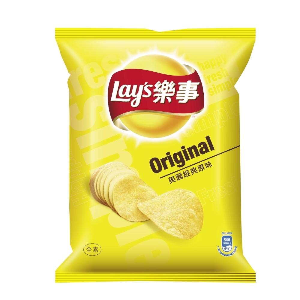 樂事 美國經典原味洋芋片(43g)