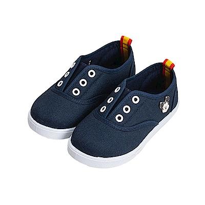 迪士尼童鞋 米奇 可愛扣飾休閒便鞋-藍
