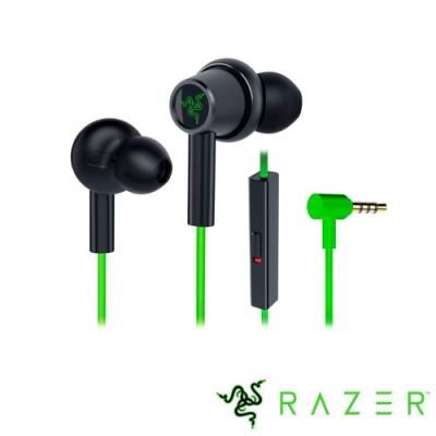 Razer Hammerhead Duo Console戰錘狂鯊入耳式耳機(綠)