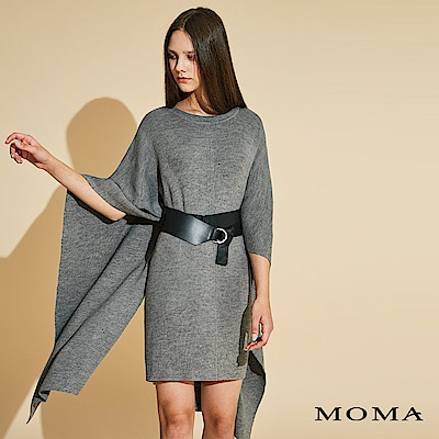 MOMA 罩衫式針織洋裝