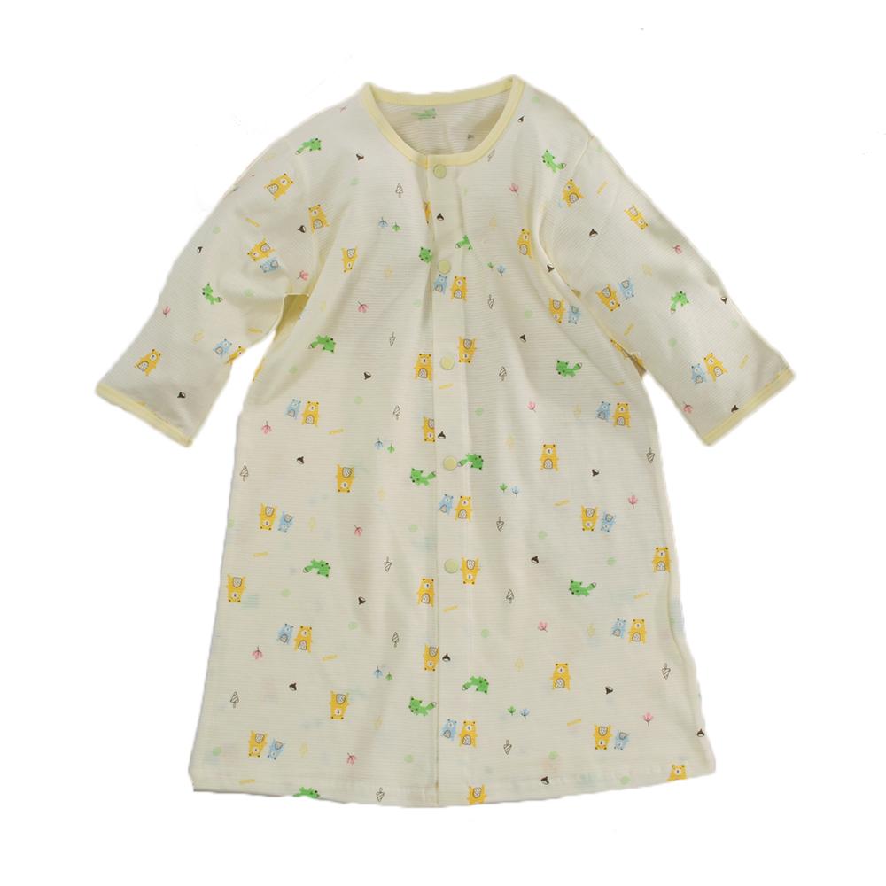 薄款純棉護手長睡袍 b0165 魔法Baby