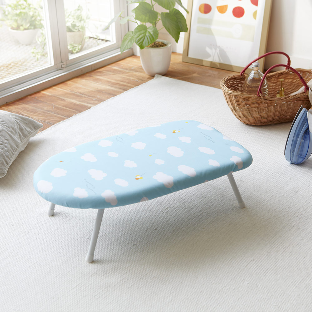 YAMAZAKI圓弧桌上型燙衣板-雲朵