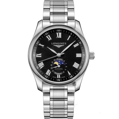 LONGINES 浪琴 Master 巨擘系列羅馬月相機械錶-40mm L29094516