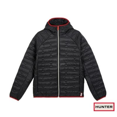 HUNTER - 男裝-輕量防風外套 - 黑