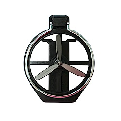風扇型水杯架 汽車冷氣孔專用-急速配