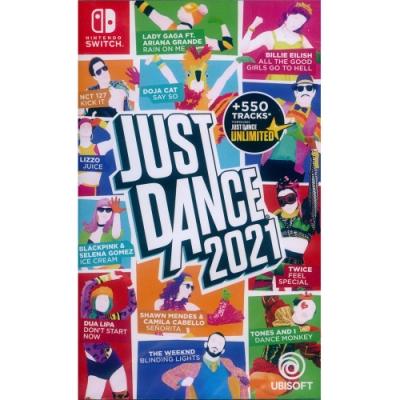 舞力全開 2021 Just Dance 2021 - NS Switch 中英文亞版(英文封面)