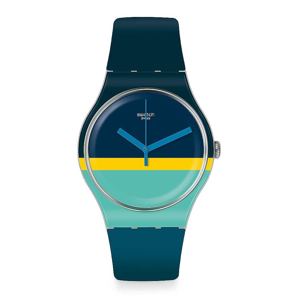 Swatch THINK FUN系列 MENT 清爽薄荷手錶
