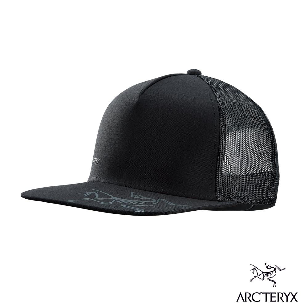 Arcteryx 始祖鳥 LOGO 混棉 棒球帽 黑