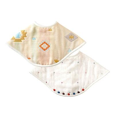 BOBO 六層紗拍嗝巾圍兜(魔法印地)