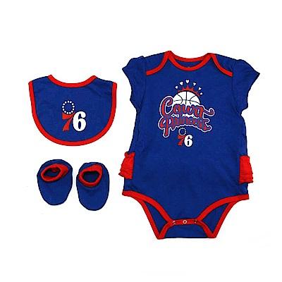 NBA 新生兒包屁衣組合 76人 12-24M