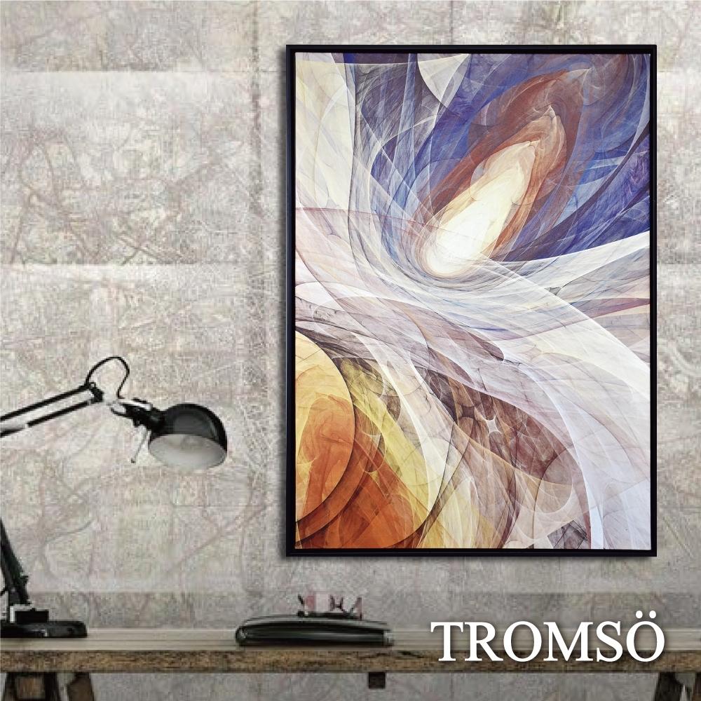 TROMSO 時尚風華抽象有框畫大幅-流星樂章W964