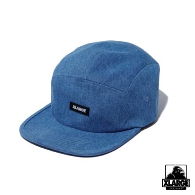 XLARGE PATCHED CAMP CAP 五分割帽-藍