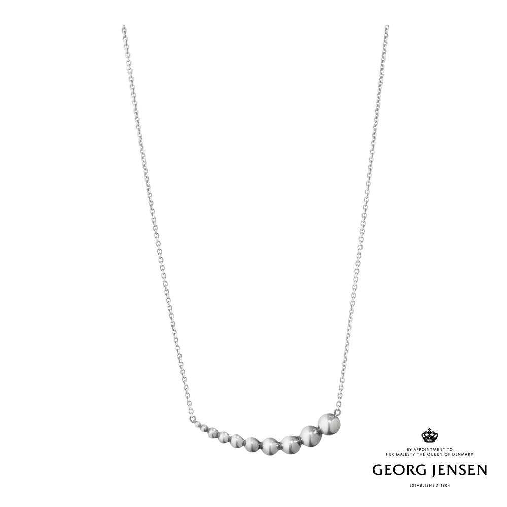 Georg Jensen 喬治傑生 MOONLIGHT GRAPES 硫化純銀項鍊