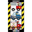 Playtown Emergency 緊急交通工具掌上型硬頁小書(英國版)
