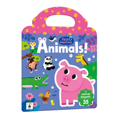 【双美】First Magnet Book – Animals
