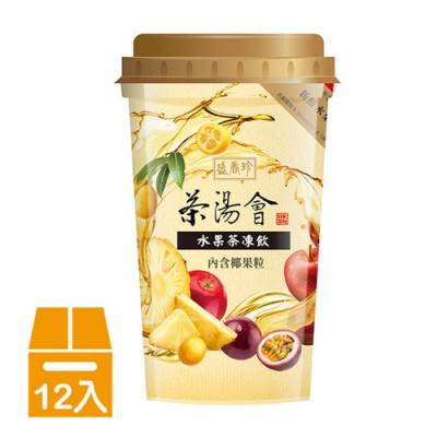 盛香珍 茶湯會水果茶凍飲275gX12杯