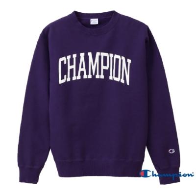Champion Campus印花Logo大學Tee 紫色