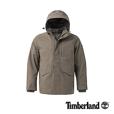 Timberland 男款棕色 3合一防水外套|A1NCP