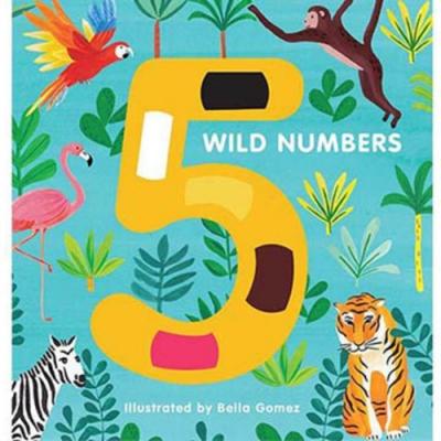5 Wild Numbers 跟著動物來數數硬頁書