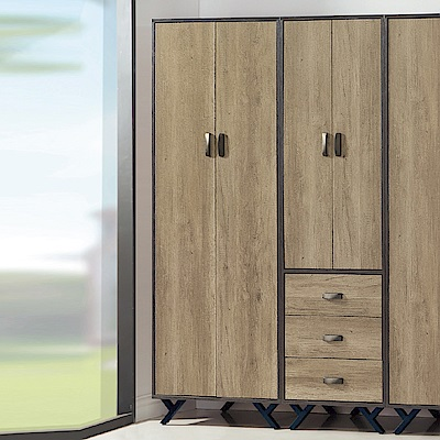 AS-莫爾茲2.5尺衣櫃-75x56x192cm