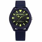Superdry極度乾燥  街頭潮流運動矽膠腕錶-丈青(SYG243U)-41mm