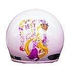 迪士尼公主系列 魔髮奇緣 Tangled 樂佩Rapun 兒童半罩安全帽(中童)(粉紫)