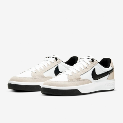 NIKE 滑板鞋 休閒鞋 運動鞋 麂皮 男鞋 白黑 CW7456100 SHOEBOX SB ADVERSARY PRM