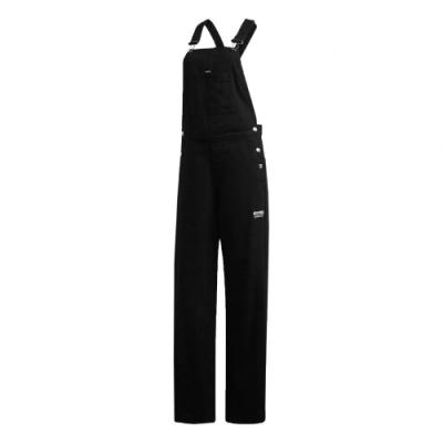 adidas 吊帶褲 R.Y.V. Dungarees 女款 愛迪達 三葉草 連身褲 流行 穿搭 黑 紅 白 GD3877