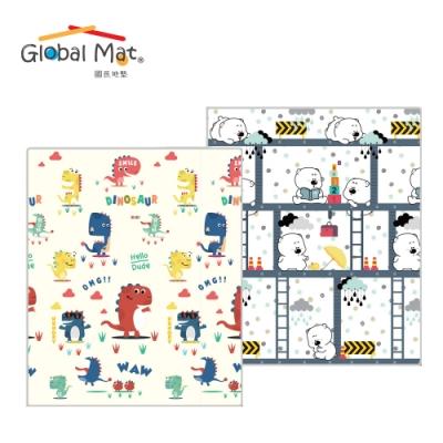 [時時樂]【Global mat】國民地墊 雙面厚1.5CM 捲式 XPE遊戲地墊 - 多款任選