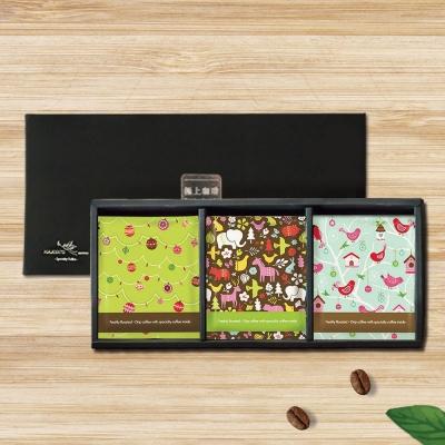 哈亞極品咖啡 單一產區濾掛式咖啡禮盒-涼風圖樣藝術-FL01(10gx18入)