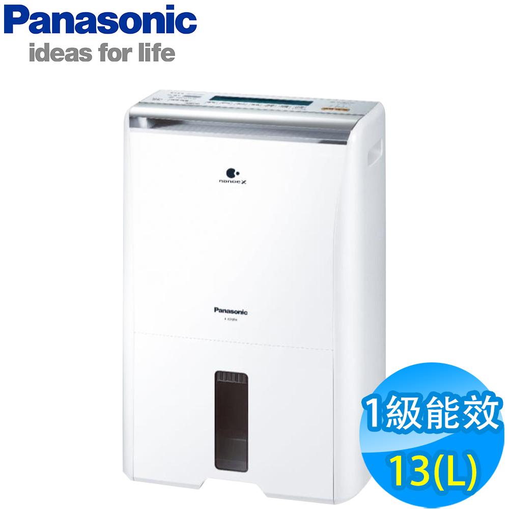 Panasonic國際牌 13L 1級ECONAVI PM2.5顯示 除濕機 F-Y26FH