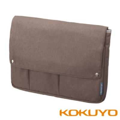 KOKUYO Bizrack up 橫式收納袋中袋(A4) -椰褐