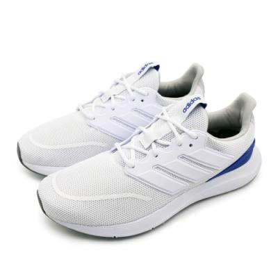 ADIDAS ENERGYFALCON 男跑步鞋 白