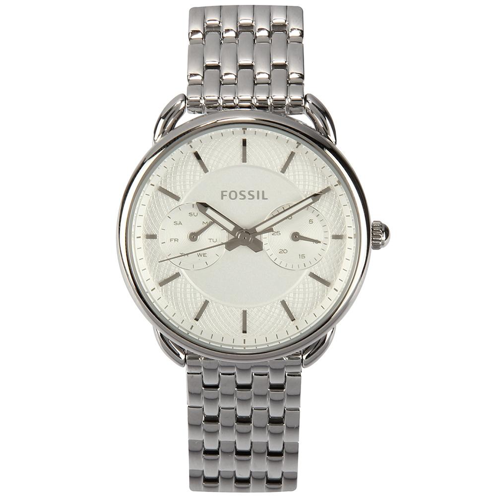 FOSSIL Tailor 極簡休閒不鏽鋼女仕腕錶-(ES3712)-34mm